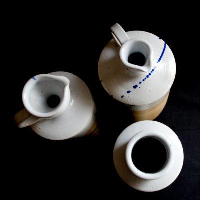 "Bouteilles ""OIL"" Ana-Belen Castillo - ceramiste"