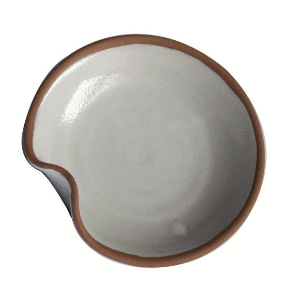 assiette à dessert Nénuphar - Ana Belen Castillo - céramiste