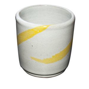 Oil - Gobelet jaune- 2019 - Ana Belen Castillo - céramiste