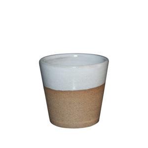 AROME - Tasse expresso - blanc - Ana Belen Castillo - céramiste