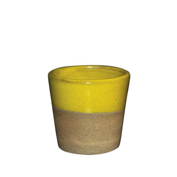 AROME - Tasse expresso - jaune - Ana Belen Castillo - céramiste