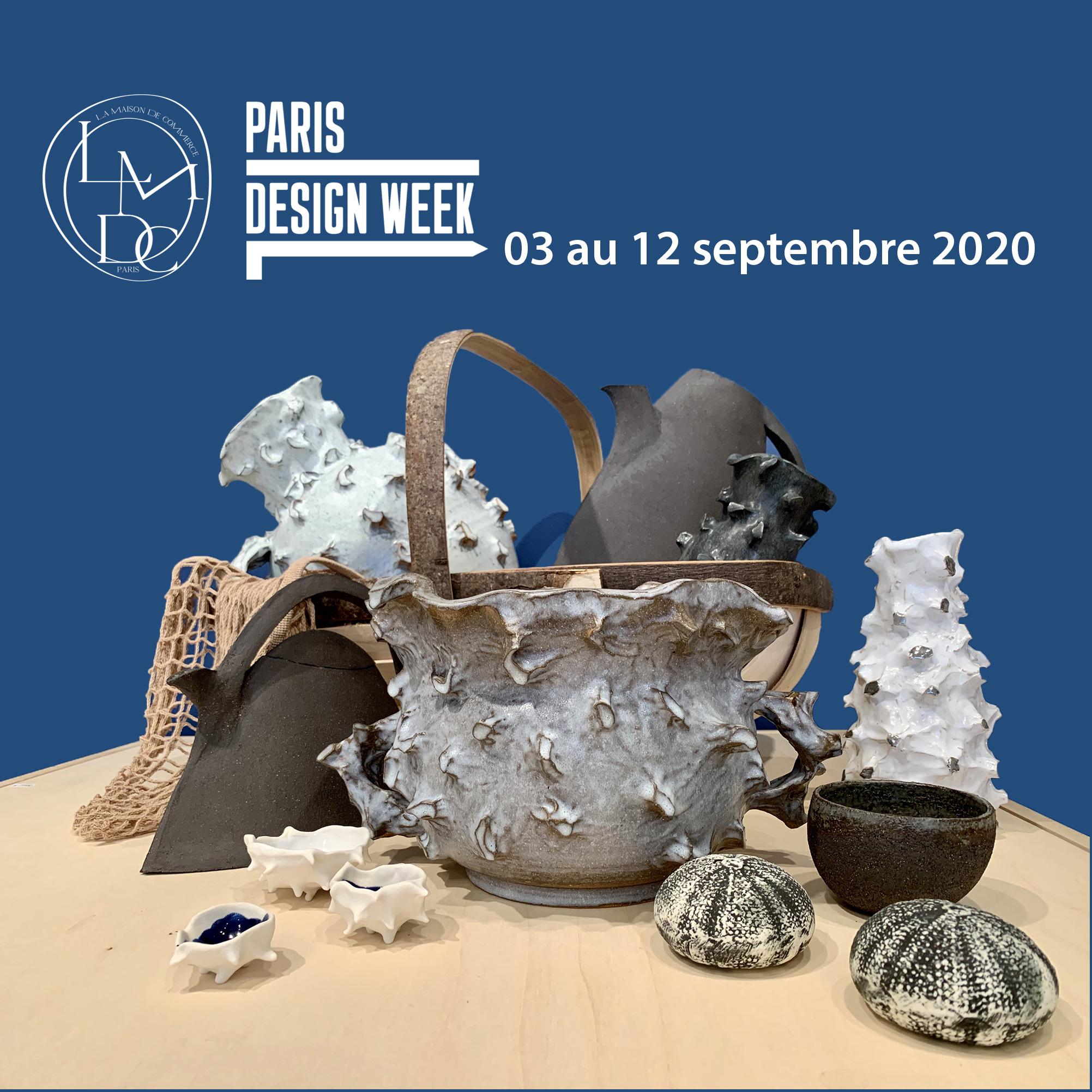 Paris Design Week 2020 - Ana Belen Castillo - céramiste