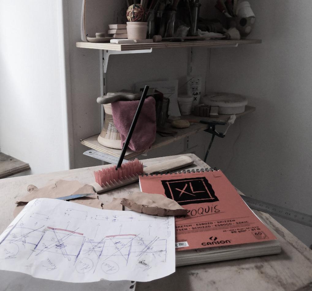 Projets de collaboration - Ana-Belen Castillo - céramiste