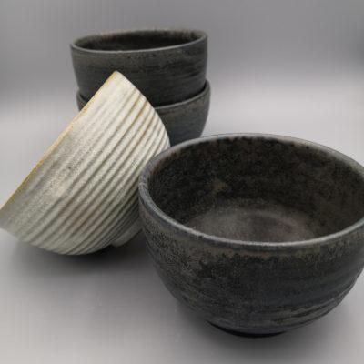 bols ronds à spirales - Ana-Belen Castillo-céramiste